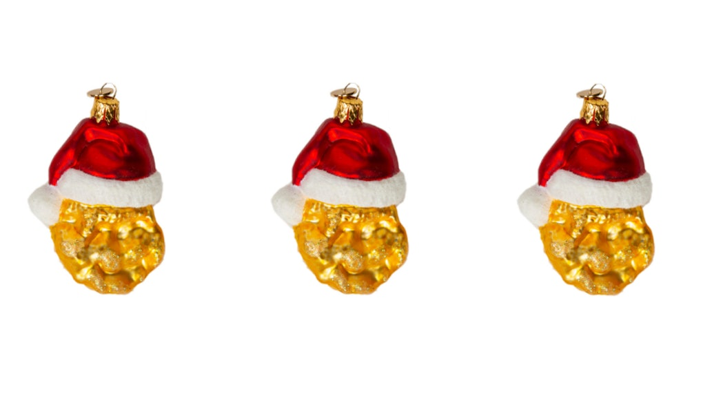 Mcdonalds Christmas Ornament.Mcdonald S Chicken Nugget Christmas Tree Ornaments Are The Tastiest