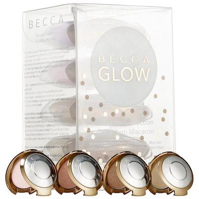 BECCA Shimmering Skin Perfector Pressed Highlighter Mini Macaron Set