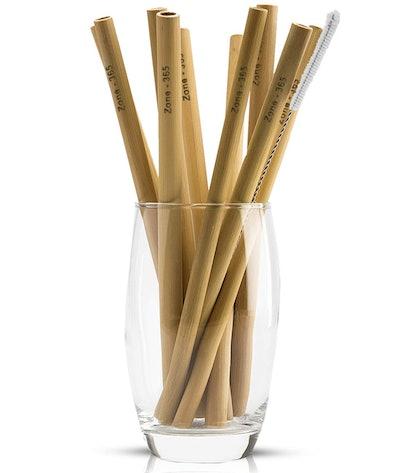 Zone 365 Bamboo Straws (10 Pack)