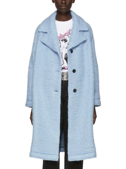 Blue Volume Coat