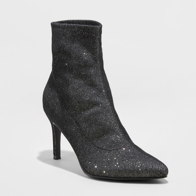 A New Day™ - Women's Cady Pointed Stiletto Sock Booties