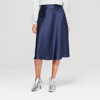 A New Day™ - Women's Satin Midi Skirt