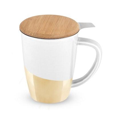 Bailey Ceramic Tea Infuser Cup