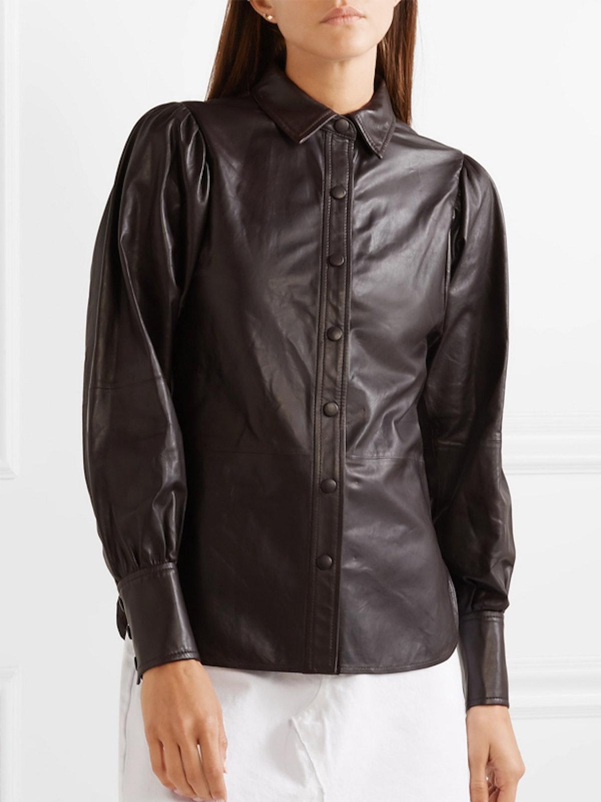 Rhinehart Leather Shirt