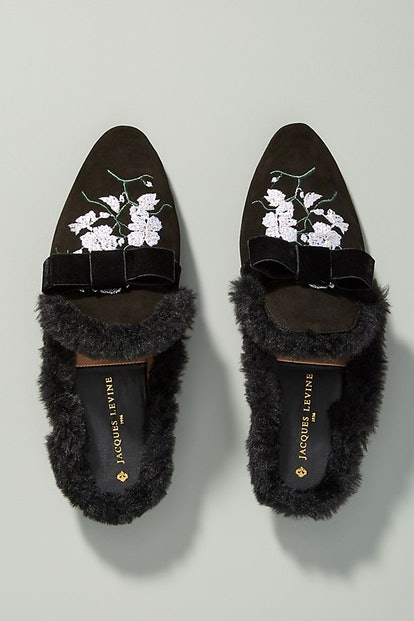 Jacques Levine Faye Slippers