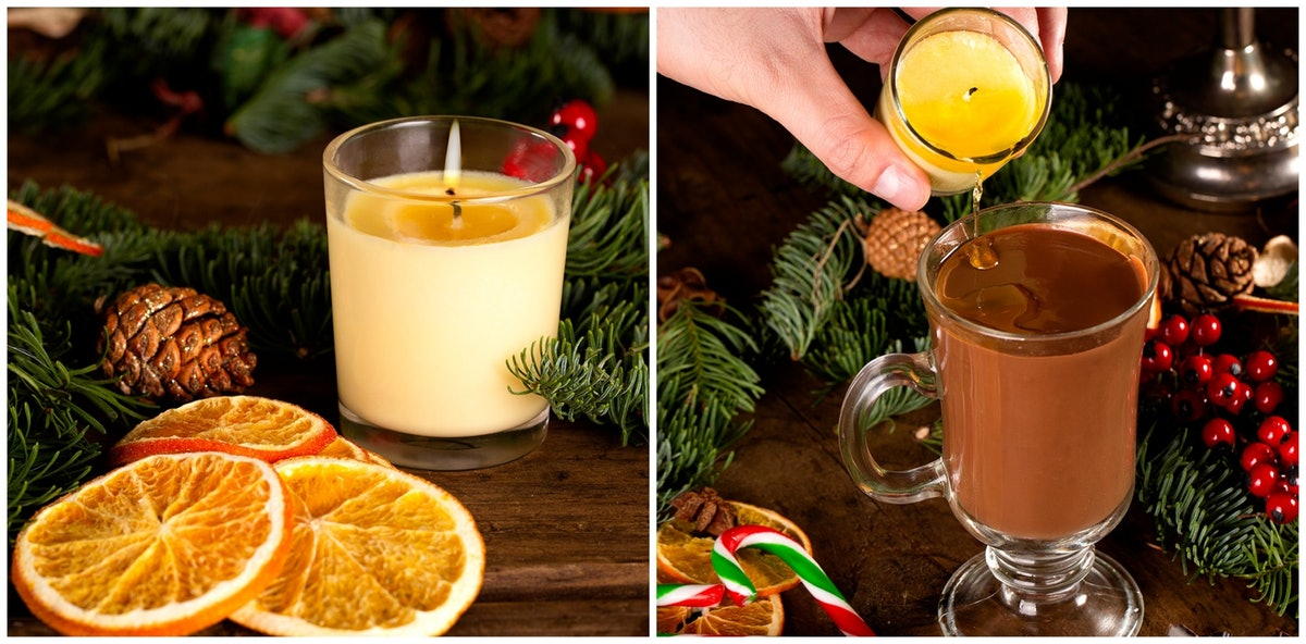 Smith & Sinclair's Edible Candles Come In 2 Festive Holiday Flavors
