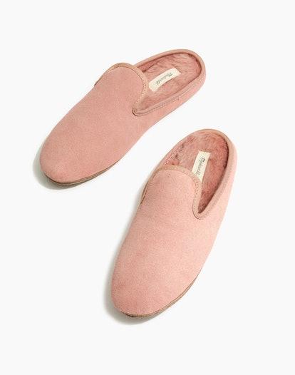 The Loafer Scuff Slipper In Suede