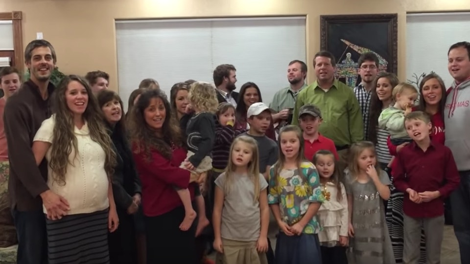 The Duggar Family\'s Ugly Christmas Sweater Party Was Festively Silly