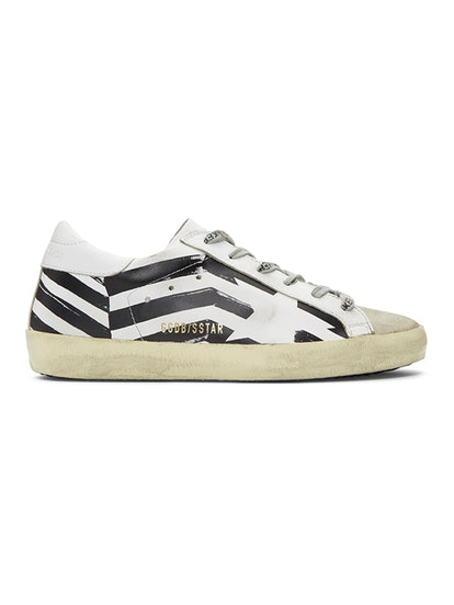 White Flag Superstar Sneakers