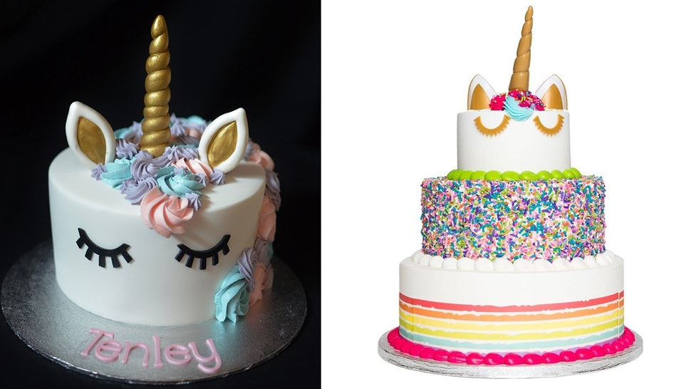 Incredible Unicorn Cakes Topped Google Searches For Food In 2018 So Here Are Funny Birthday Cards Online Alyptdamsfinfo