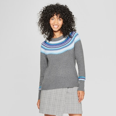 A New Day™ - Women's Fair Isle Pullover Sweater