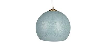 """Etoile Frost Blue 20"""" Pendant Lamp"""