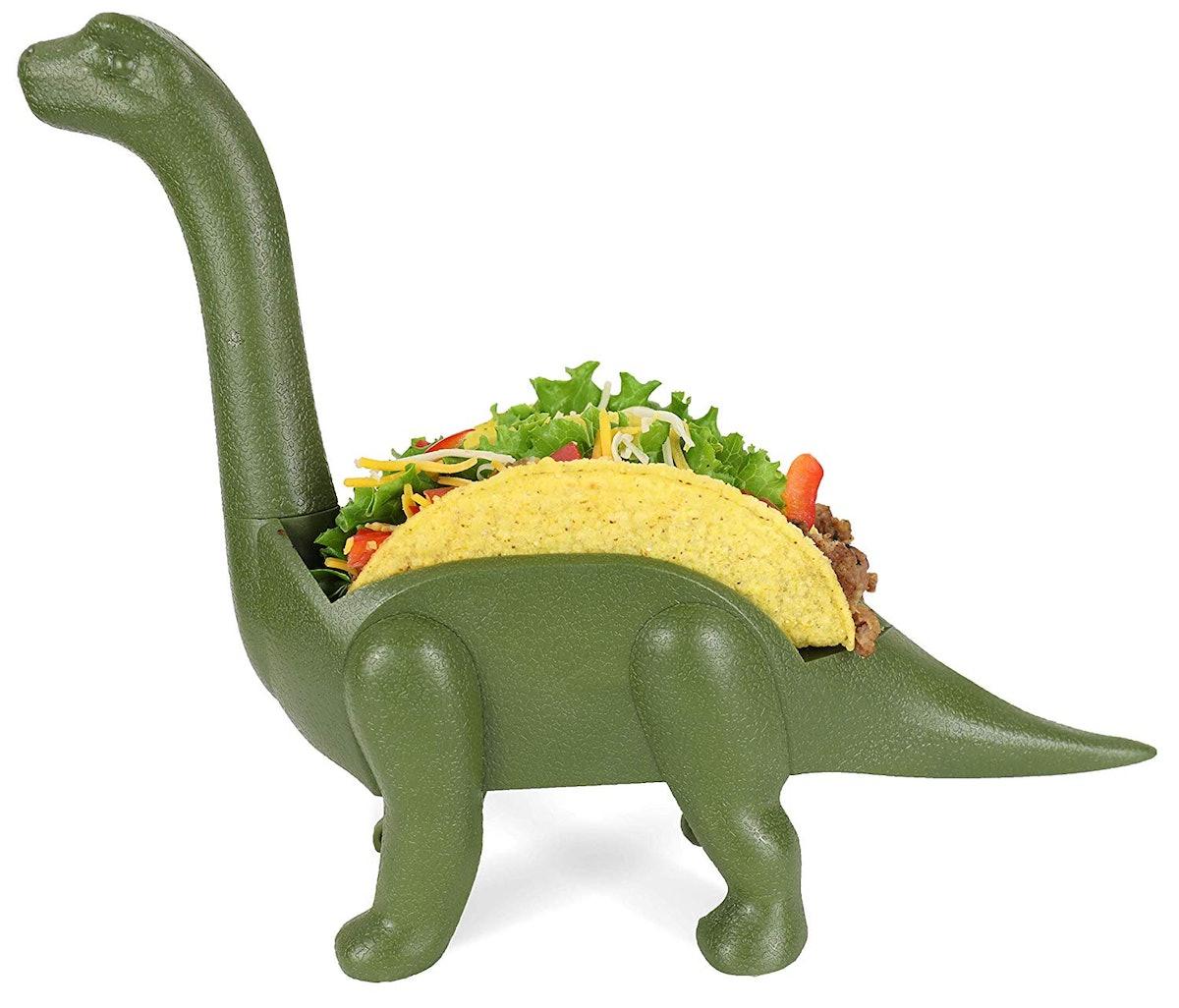 Grub Keepers Dinosaur Taco Holder, $13,
