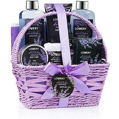 Home Spa Gift Basket