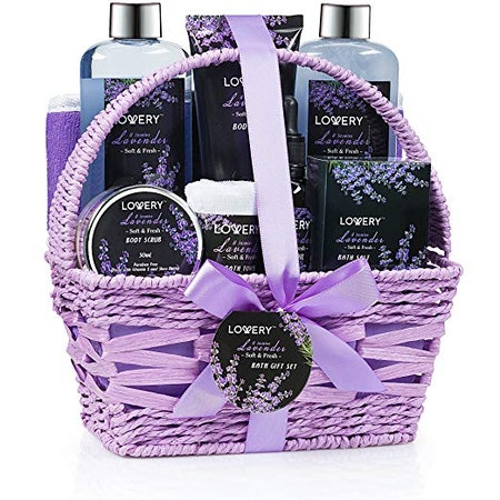 Home Spa Gift Basket