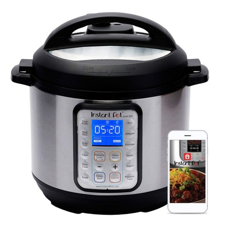 Instant Pot Smart WiFi 6 Quart Electric Pressure Cooker