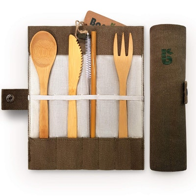 Keklle Bamboo Cutlery Set