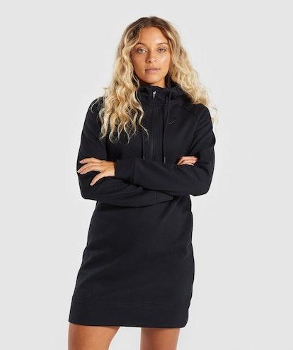 Gymshark Slim Fit Hooded Dress