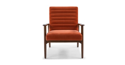Thetis Persimmon Orange Chair
