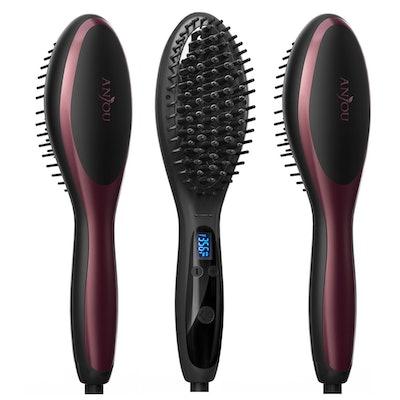 Anjou Hair Straightener Brush
