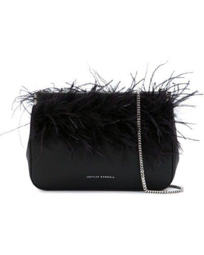 Maisie Feather Hinge Pouch