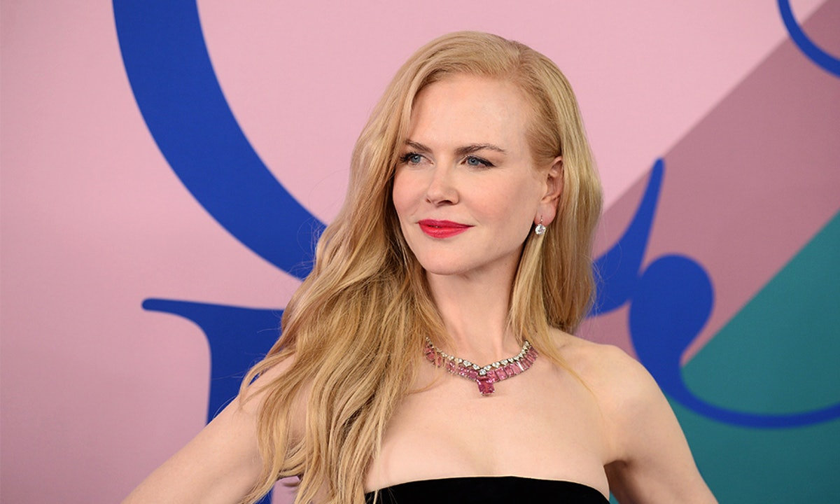Nicole Kidman's Black Feather Heels Are The Coolest Festive Accessory