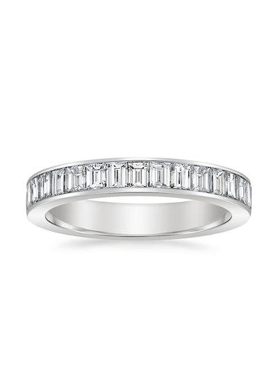 Channel Set Baguette Diamond Ring