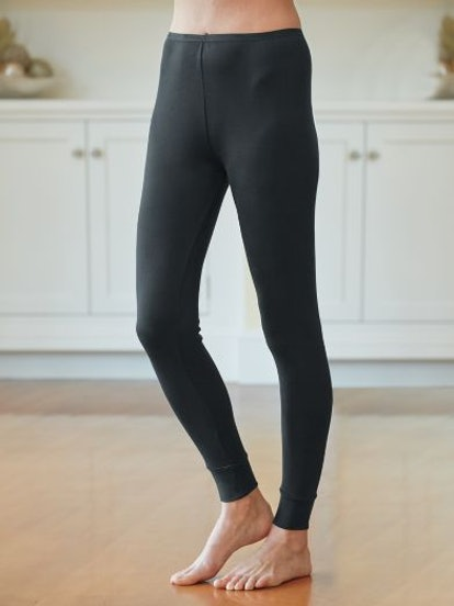 Ladies' Long Underwear Pant in Heavyweight Washable Silk
