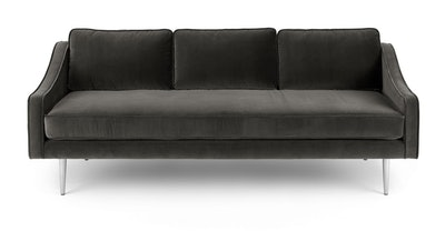 Mirage Shadow Gray Sofa