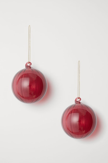 2-pack Christmas Ornaments