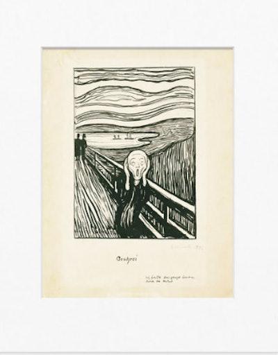 Munch: The Screen-Matted Print