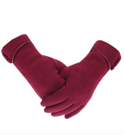 Tomily Women's Fleece Touchscreen Gloves