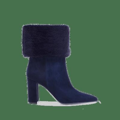 Joanne Shearling Fold-Down Boots