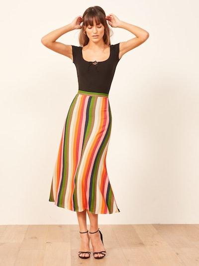 Bea Skirt in Rainbow