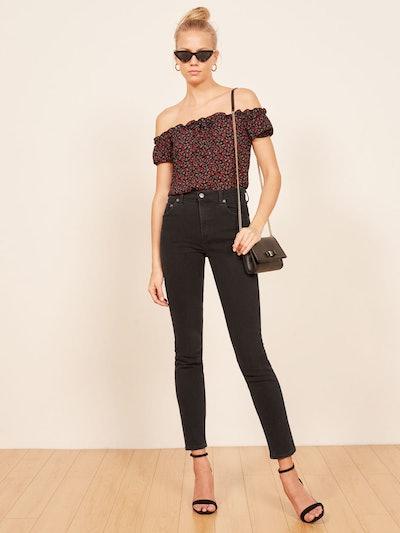 Hepburn High Skinny Jean in Argentine