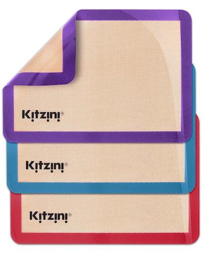Kitzini Silicone Baking Mats (3 Pack)