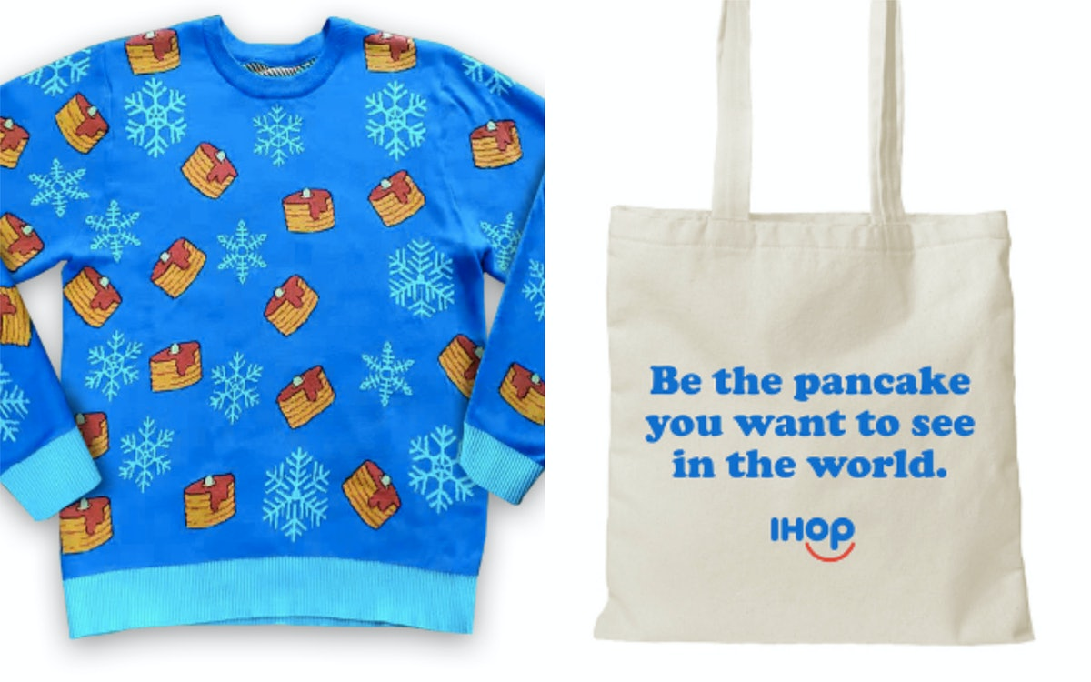 IHOP's Merchandise Line Lets You Wear Your Pancake-Loving Heart On Your Sleeve