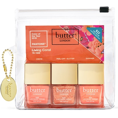 Living Coral Lacquer Set