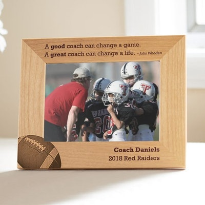 Personalized Coach Picture Frame