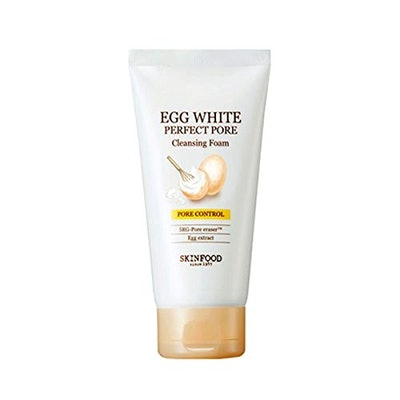 SkinFood Egg White Perfect Pore Cleansing Foam