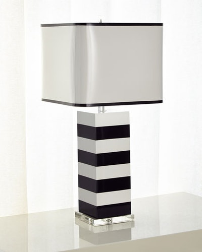 Lindsay Stripe Table Lamp