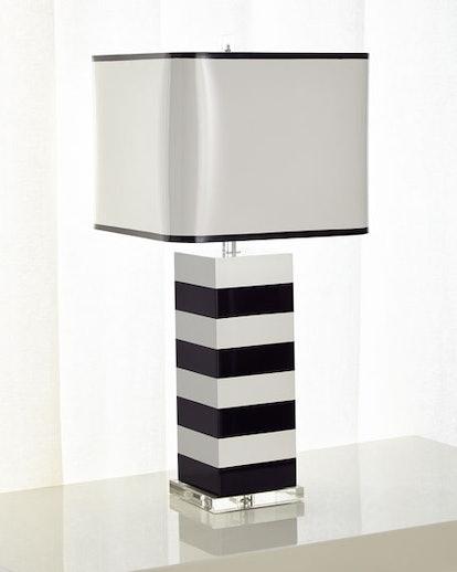 Lindsay Stripe Table Lamp