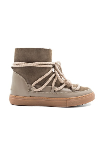 Classic Genuine Shearling Sneaker Boot