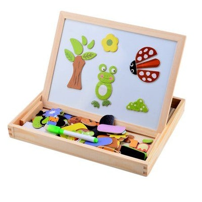 Fantastic Wooden Toys Magnetic Multifunction Board