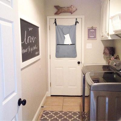 LUXJA Adjustable Hanging Laundry Hamper