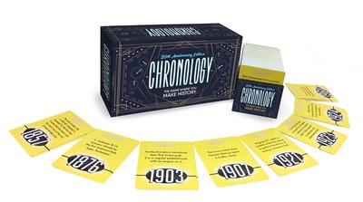 Buffalo Games CHRONOLOGY Board Game