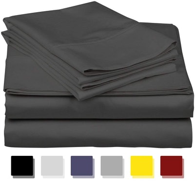 True Luxury 1000-Thread-Count Egyptian Cotton Bed Sheets