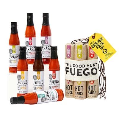 Hot Sauce Gift Basket