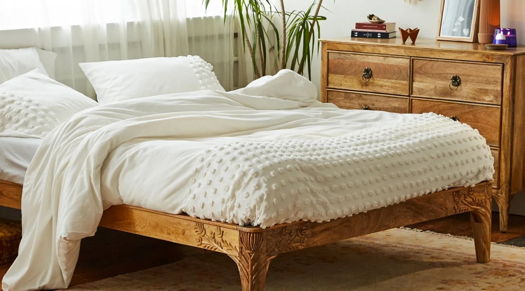 The Urban Outfitters Bedding Sale Is Full Of Cozy Essentials Up To
