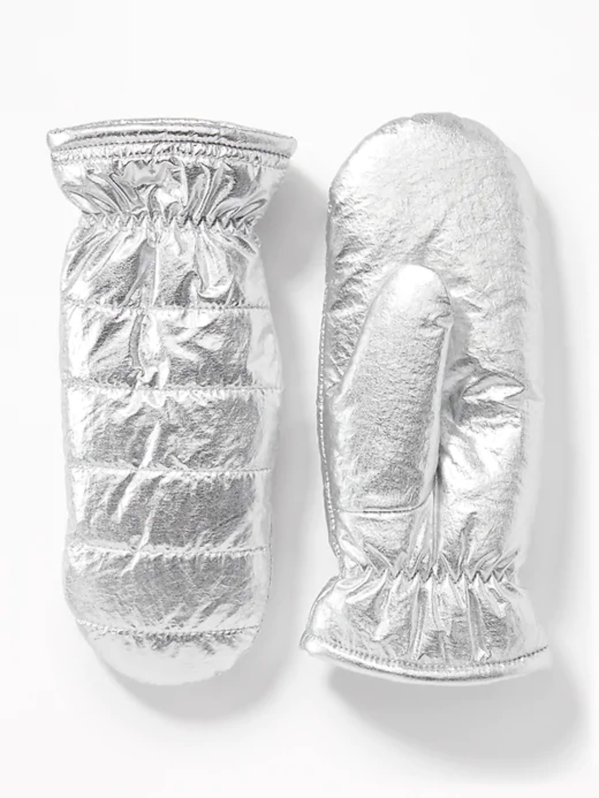 Quilted Water-Resistant Mittens for Women